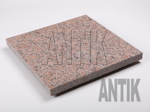 Flamed granite paving tile Withered 400x400x30