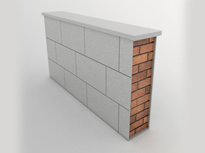 Stone parapets applications