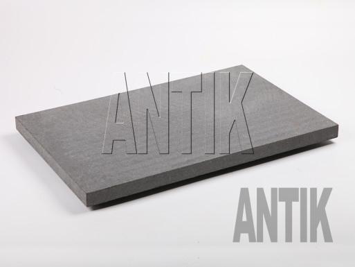 Gabbro Bodenplatten Antik Nero gesägt 600x400x30