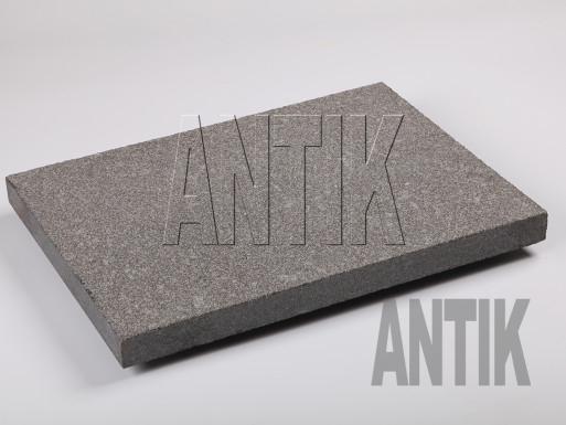 Gabbro Bodenplatten Antik Nero kugelgestrahlt 400x300x30