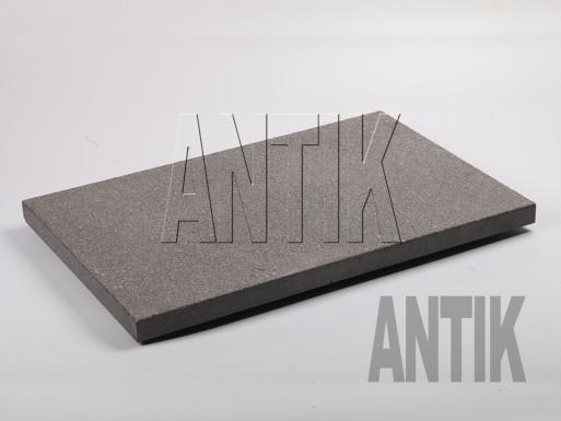 Gabbro Bodenplatten Antik Nero kugelgestrahlt 600x400x30