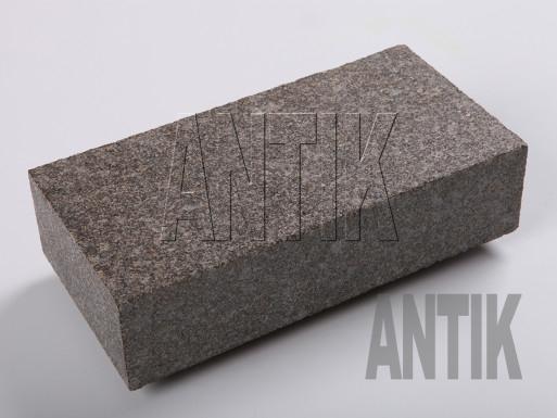 Gabbro Pflastersteine Antik Nero gesägt 200x100x50