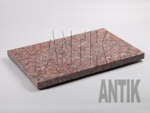 Granit Bodenplatten Rosso Santiago geflammt 600x400x30