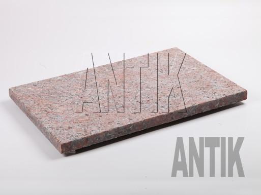Granit Bodenplatten Rosso Santiago kugelgestrahlt 600x400x30