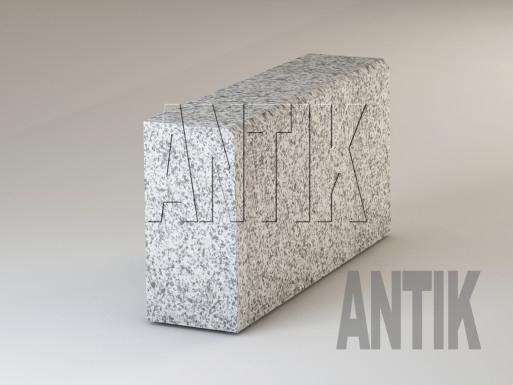 Granit Bordsteine Grey Ukraine gesägt 300x150