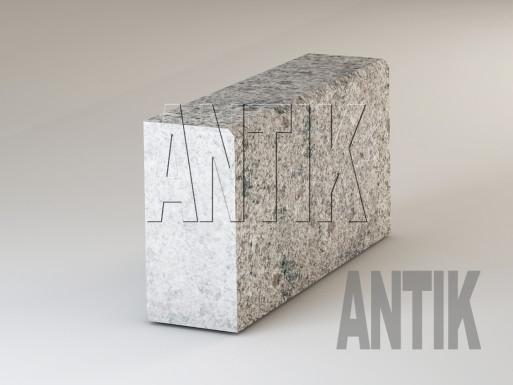 Granit Bordsteine Kostyantynivsky geflammt 300x150