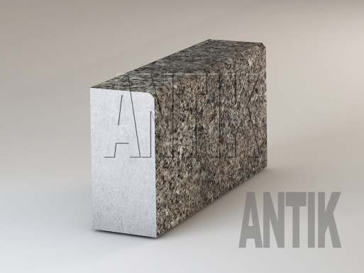 Granit Bordsteine Kostyantynivsky poliert 300x150