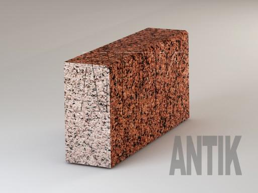 Granit Bordsteine Maple Red poliert 300x150
