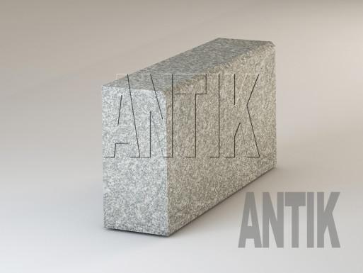 Granit Bordsteine Real Grey gesägt 300x150