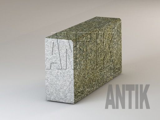 Granit Bordsteine Real Grey poliert 300x150
