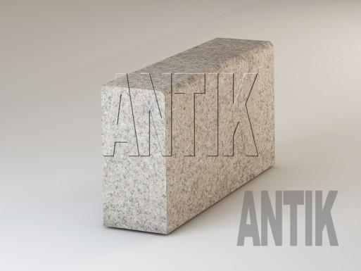 Granit Bordsteine Rosa Kyshyn gesägt 300x150