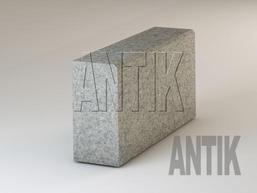 Granit Bordsteine Verde Oliva gesägt 300x150