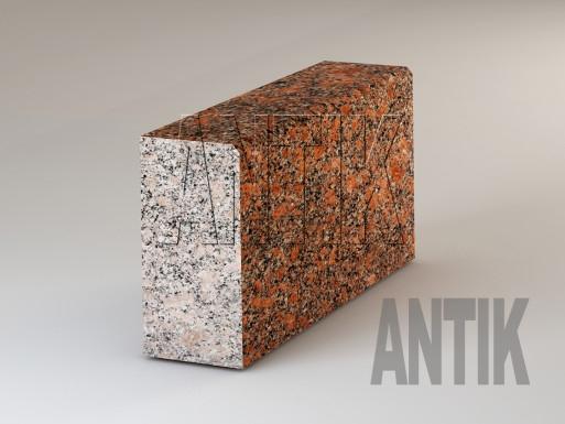 Granit Bordsteine Withered poliert 300x150