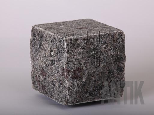 Granit Pflastersteine Kostyantynivsky gesägt und gespalten 100x100x100