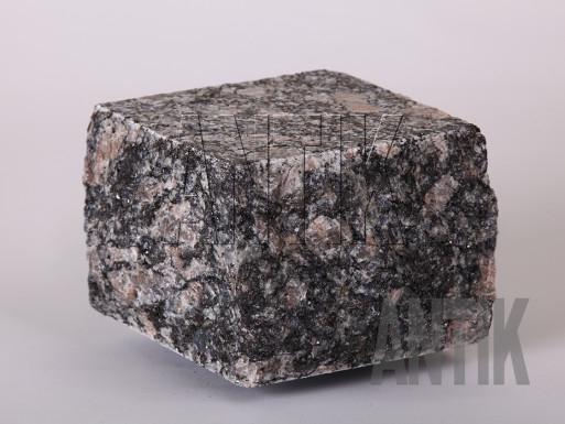 Granit Pflastersteine Leopard gesägt und gespalten 100x100x100