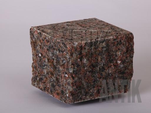 Granit Pflastersteine Ukrainian Autumn gesägt und gespalten 100x100x100