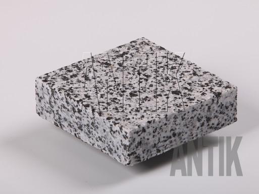 Брусчатка гранит пиленая Покостовское (Grey Ukraine) 100x100x30