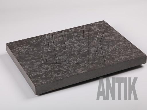 Плита мощения Базальт термо 400x300x30
