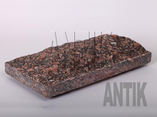 Плита скала Крупское Гранит 400x200x60