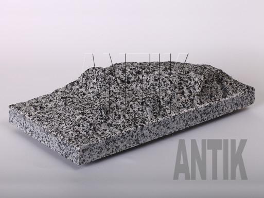 Плита скала Покостовское Гранит 400x200x60