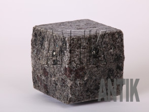 Брусчатка гранит пилено-колотая Константиновское (Kostyantynivsky) 100x100x100 (мокрая)