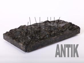 Плита скала Осныковское Лабрадорит 400x200x60 (мокрая)