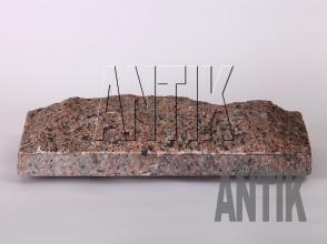 Плита скала Межиричское Гранит 400x200x60 (горизонтально)