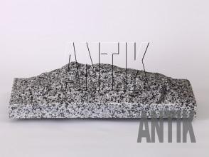 Плита скала Покостовское Гранит 400x200x60 (горизонтально)