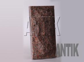 Плита скала Новоданиловское Гранит 400x200x60 (вертикально)