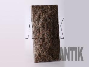 Плита скала Васильевское Гранит 400x200x60 (вертикально)