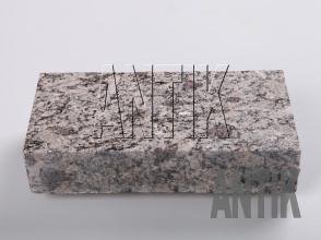 Брусчатка гранит пиленая Софиевское (Sophiyvsky) 200x100x50