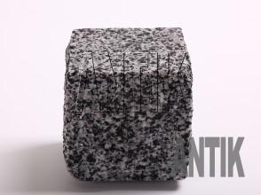 Брусчатка гранит пилено-колотая Покостовское (Grey Ukraine) 100x100x100 (мокрая)