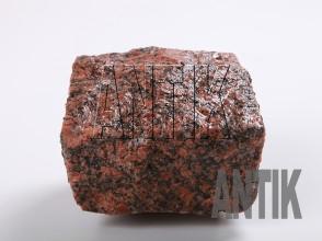 Брусчатка гранит колотая Новоданиловское (Withered) 100x100x50 (мокрая)