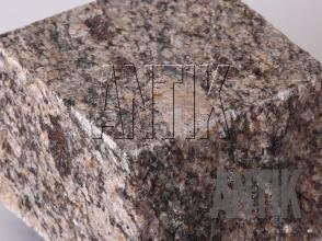 Брусчатка гранит пилено-колотая Софиевское (Sophiyvsky) 100x100x100 (фактура)