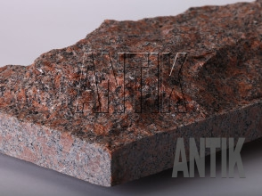 Плита скала Новоданиловское Гранит 400x200x60 (фактура)