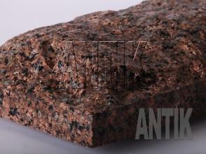 Плита скала Межиричское Гранит 400x200x60 (фактура мокрая)
