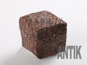Брусчатка гранит колотая Новоданиловское (Withered) 100x100x100 (мокрая)