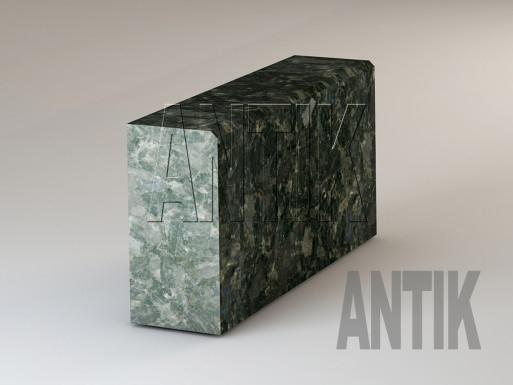 Бордюр Осныковское Лабрадорит полировка 300x150 ГП-1