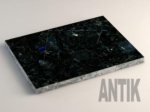 Добрынское (Extra Blue Ukraine) Лабрадорит плита облицовочная 400x300x20