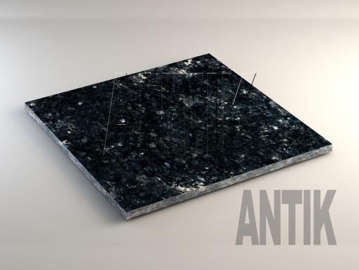 Ковалевское (Silver Grey) Лабрадорит плита облицовочная 600x600x20