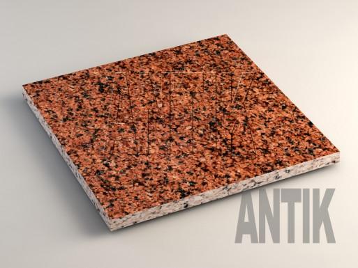Лезниковское (Maple Red) Гранит плита облицовочная 400x400x20
