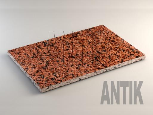 Лезниковское (Maple Red) Гранит плита облицовочная 600x400x20
