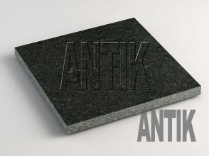 Луговое (Antik Nero) Габбро плита облицовочная 300x300x20