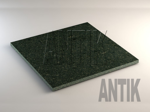 Луговое (Antik Nero) Габбро плита облицовочная 600x600x20