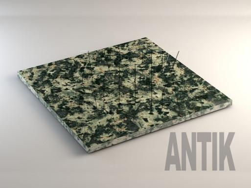 Луковецкое (Lukovetskiy) Анортозит плита облицовочная 600x600x20