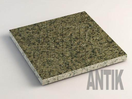 Маславское (Verde Oliva) Гранит плита облицовочная 300x300x20