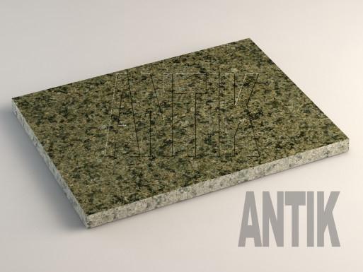 Маславское (Verde Oliva) Гранит плита облицовочная 400x300x20