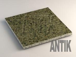 Маславское (Verde Oliva) Гранит плита облицовочная 400x400x20