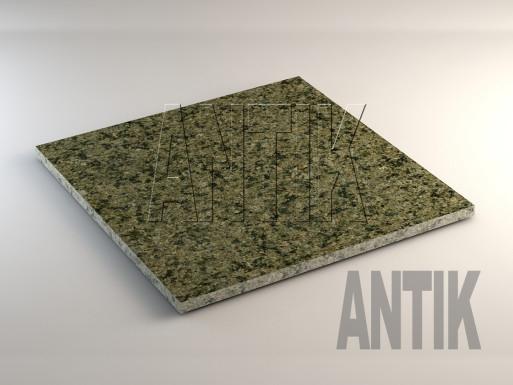 Маславское (Verde Oliva) Гранит плита облицовочная 600x600x20