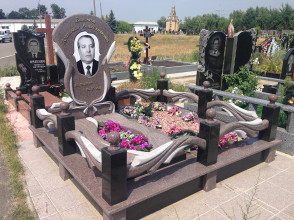 Надгробие №122